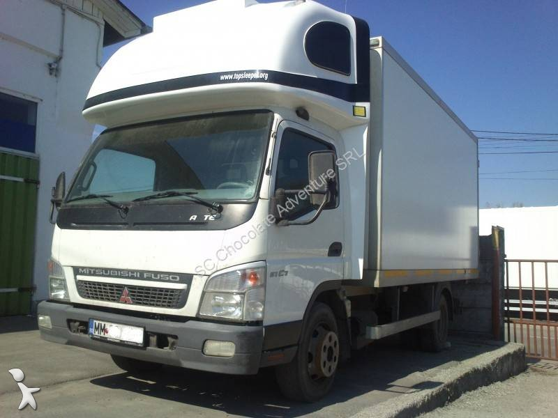 camion mitsubishi fuso frigo mono temp rature canter 7c15 4x2 gazoil euro 4 occasion n 980867. Black Bedroom Furniture Sets. Home Design Ideas