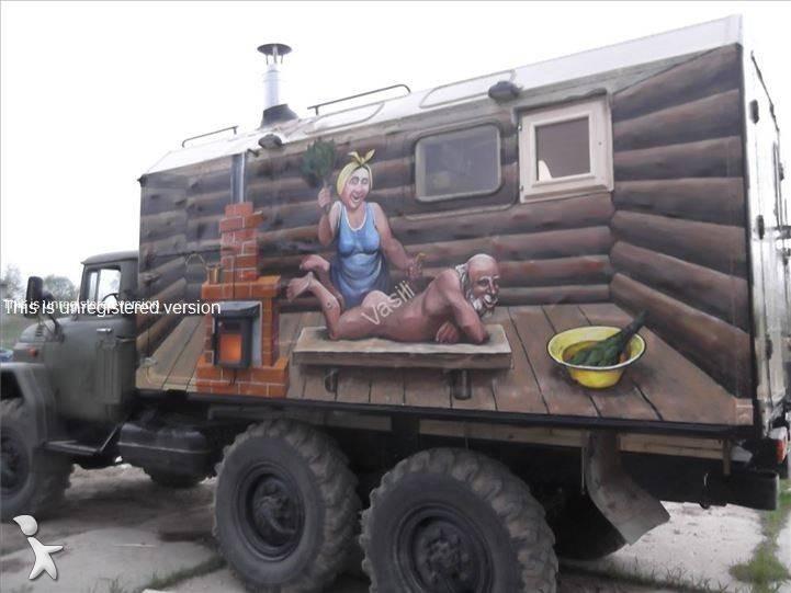camion zil fourgon polyfond 131 6x6 essence euro 4