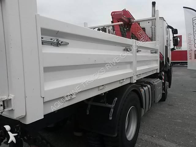 camion renault benne gamme c 380 4x2 gazoil euro 6 occasion n 2116012. Black Bedroom Furniture Sets. Home Design Ideas