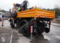 Zobaczyć zdjęcia Ciężarówka Unimog 427/20 ZAGRO RAIL HIAB 071 Road two way Schiene