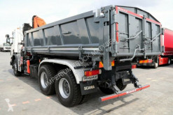 Voir les photos Camion Scania P 380/6X4/2 SIDED TIPPER/CRANE PALFINGER PK15500