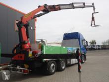 Voir les photos Camion Iveco 420 6x2 E5 Pritsche mit Kran Palfinger