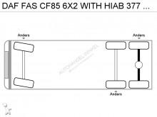 otros camiones DAF CF85 6x2 Diesel Euro 5 usado - n°2919133 - Foto 16
