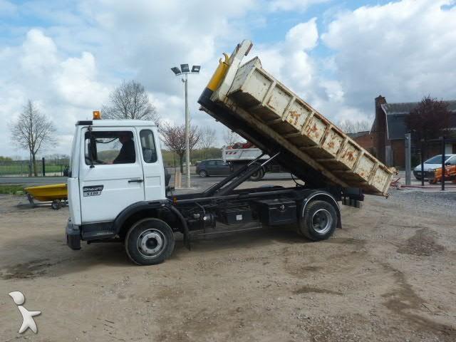 camion renault polybenne midliner 130 4x2 euro 6 occasion n 1073844. Black Bedroom Furniture Sets. Home Design Ideas