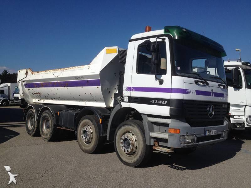 camion mercedes benne enrochement actros 4140 8x4 gazoil euro 3 occasion n 1085551. Black Bedroom Furniture Sets. Home Design Ideas