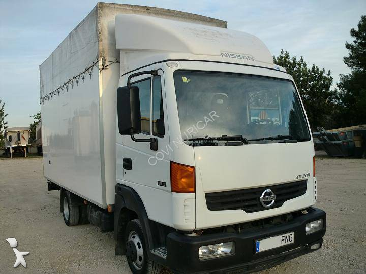 camion nissan fourgon atleon 4x2 euro 3 occasion n 1116486. Black Bedroom Furniture Sets. Home Design Ideas