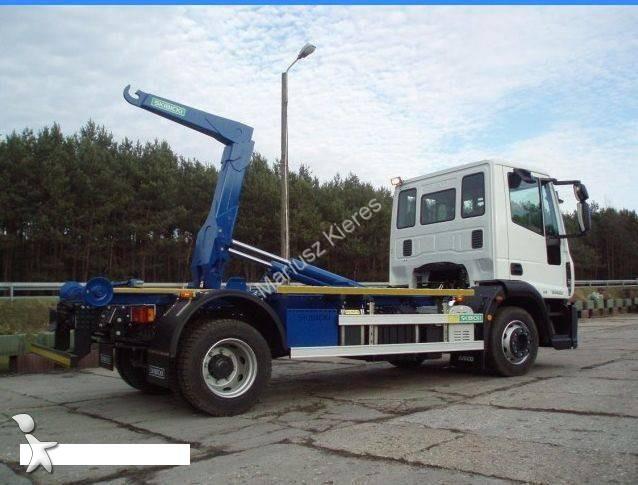 Tweedehands kraan met kipper iveco eurocargo 4x2 euro 3 for Vrachtwagen kipper met kraan