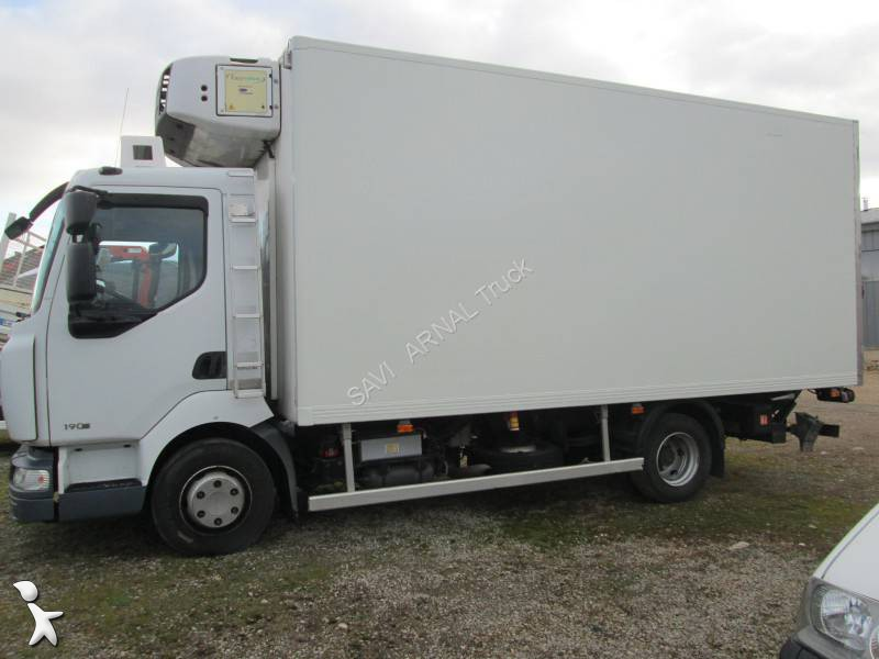 Camion renault frigo carrier mono temp rature midlum 4x2 euro 4 hayon occasion n 1193231 - Temperature frigo 10 degres ...