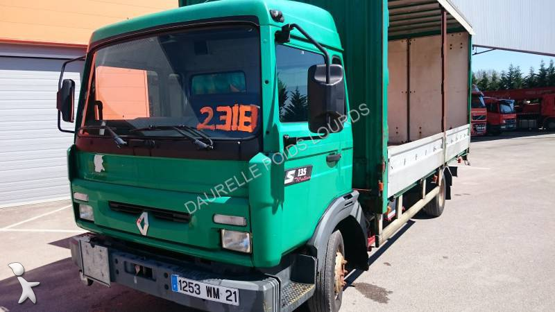 camion plateau ridelles b ch occasion renault gamme s 135. Black Bedroom Furniture Sets. Home Design Ideas