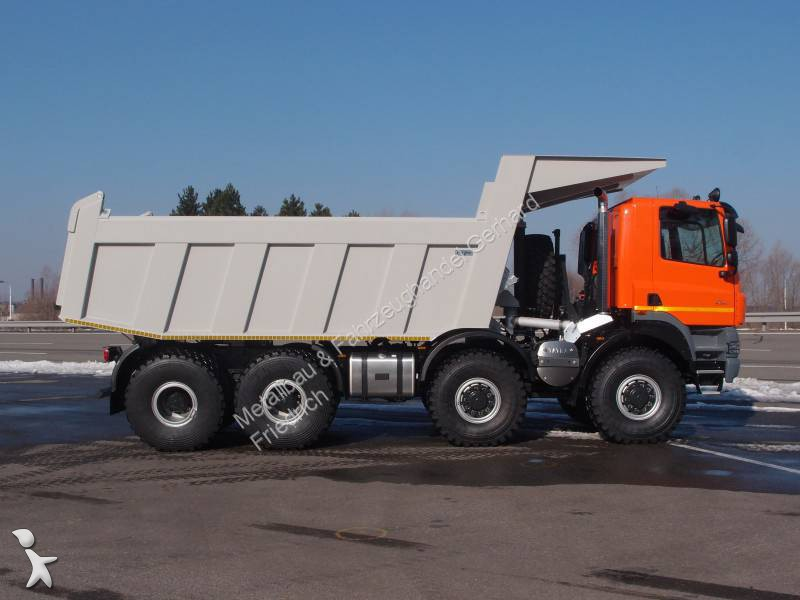 camion tatra benne enrochement phoenix t158 8x8 gazoil
