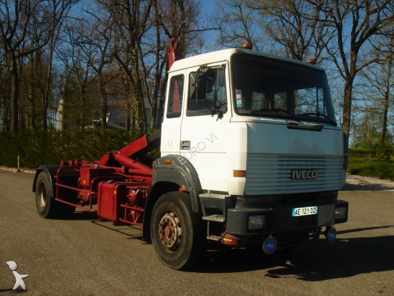 Tweedehands kraan met kipper iveco turbotech 4x2 for Vrachtwagen kipper met kraan