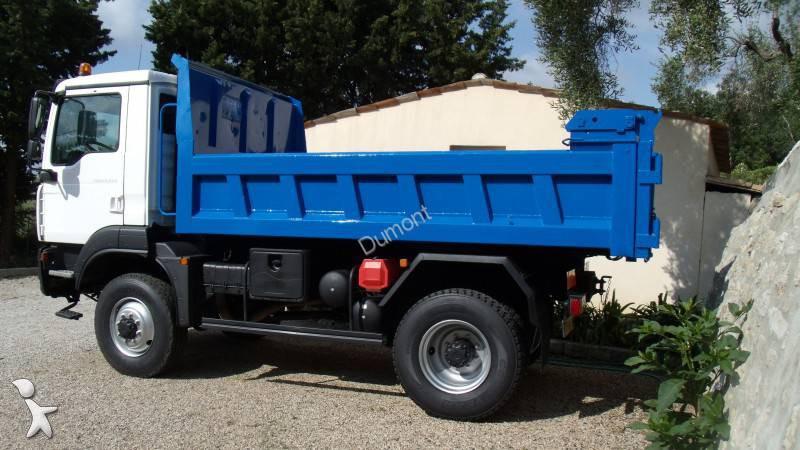 camion man benne forez bennes tgm 4x4 gazoil euro 5 occasion n 1311896. Black Bedroom Furniture Sets. Home Design Ideas