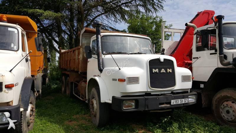 camion man benne 6x4 euro 6 occasion n 1328267. Black Bedroom Furniture Sets. Home Design Ideas