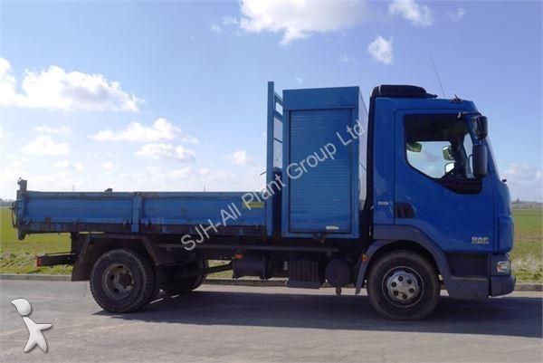 camion daf benne lf 7 5 ton occasion n 1361982. Black Bedroom Furniture Sets. Home Design Ideas