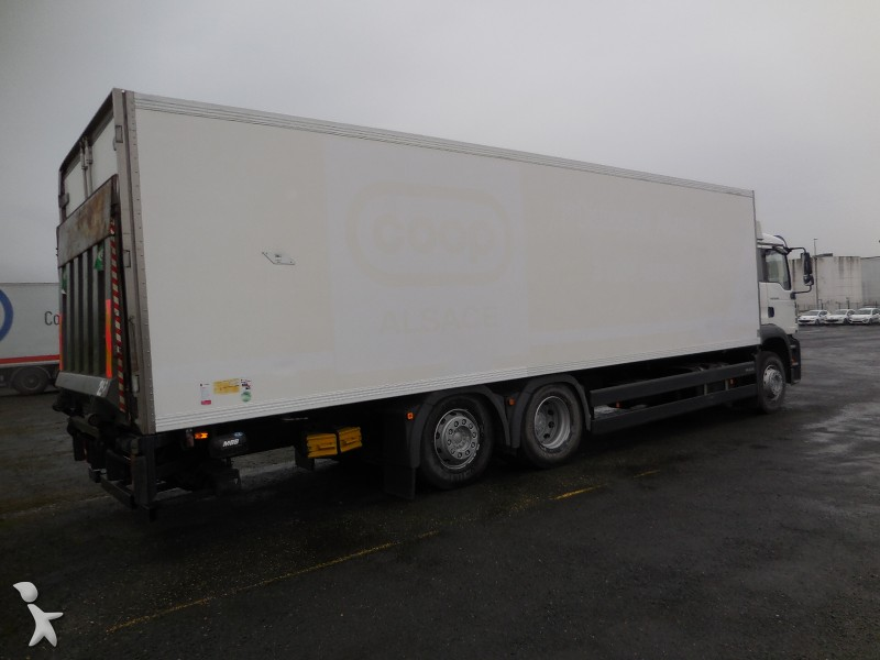 Camion man frigo carrier mono temp rature tga 6x2 - Temperature du frigo ...