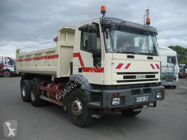 camion iveco bi benne meiller eurotrakker 340e35 6x4 gazoil euro 3 occasion n 1372910. Black Bedroom Furniture Sets. Home Design Ideas