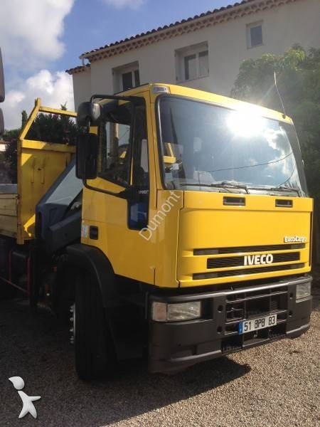 camion iveco benne enrochement eurocargo 170e23 4x2 gazoil euro 2 occasion n 1400265. Black Bedroom Furniture Sets. Home Design Ideas