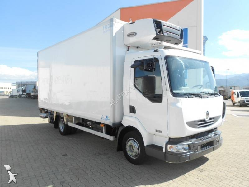 Camion frigo mono temp rature occasion renault midlum b gazoil carrier hayon annonce n - Temperature frigo 10 degres ...