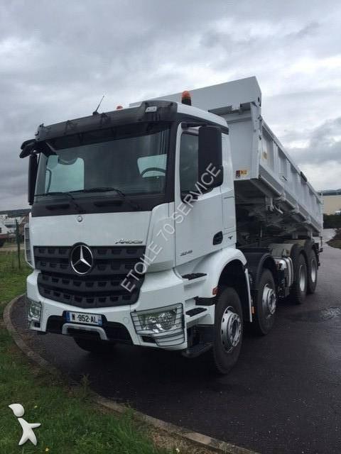Camion Mercedes Bi Benne Meiller Arocs 3245 K 8x4 Gazoil