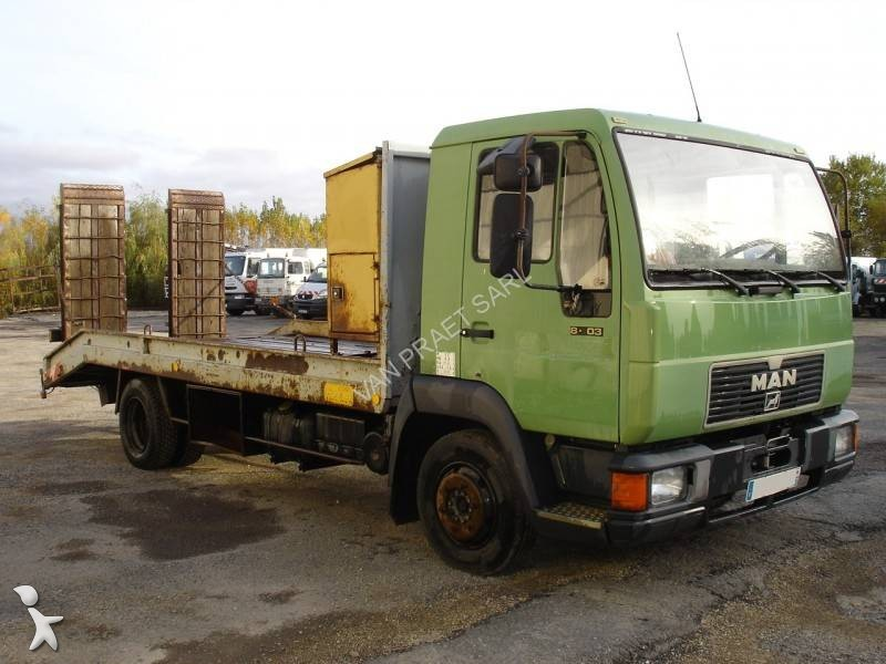 camion man plateau 4x2 gazoil euro 1 occasion n 1511688. Black Bedroom Furniture Sets. Home Design Ideas