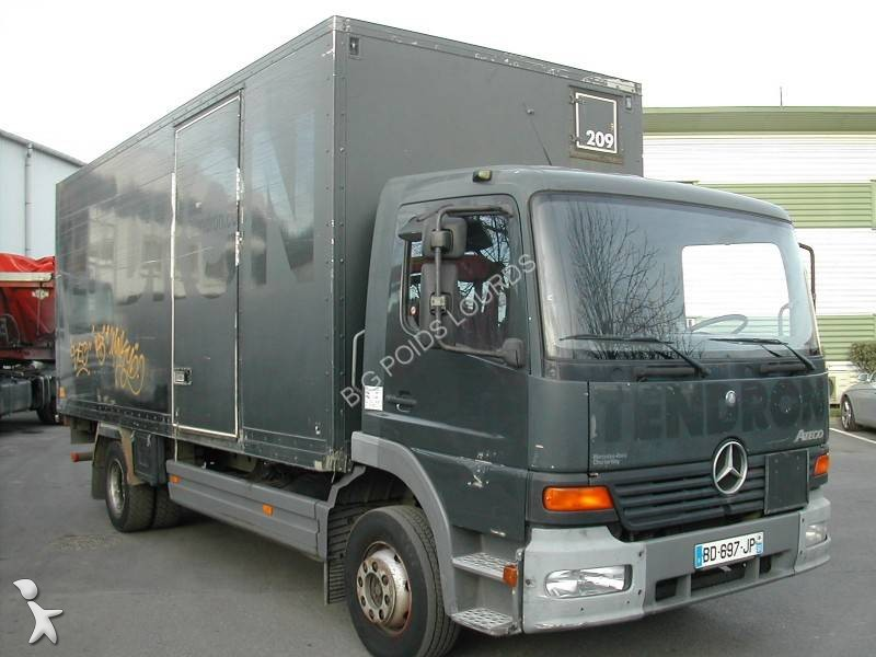 camion mercedes fourgon atego 1217 4x2 euro 2 hayon occasion n 1530567. Black Bedroom Furniture Sets. Home Design Ideas