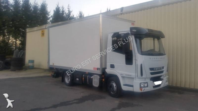 camion iveco fourgon eurocargo 100e22 euro 6 hayon occasion n 1531562. Black Bedroom Furniture Sets. Home Design Ideas