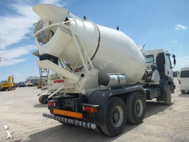 Camion renault b ton toupie malaxeur kerax 420 dci euro - Camion toupie beton ...