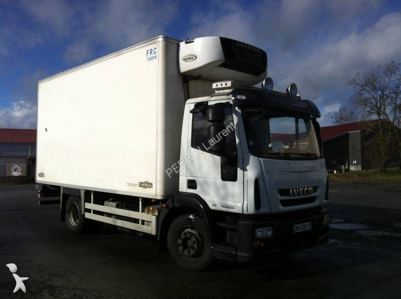 camion iveco frigo carrier trasporto carne eurocargo 140e25 gasolio euro 5 usato n 1573006. Black Bedroom Furniture Sets. Home Design Ideas