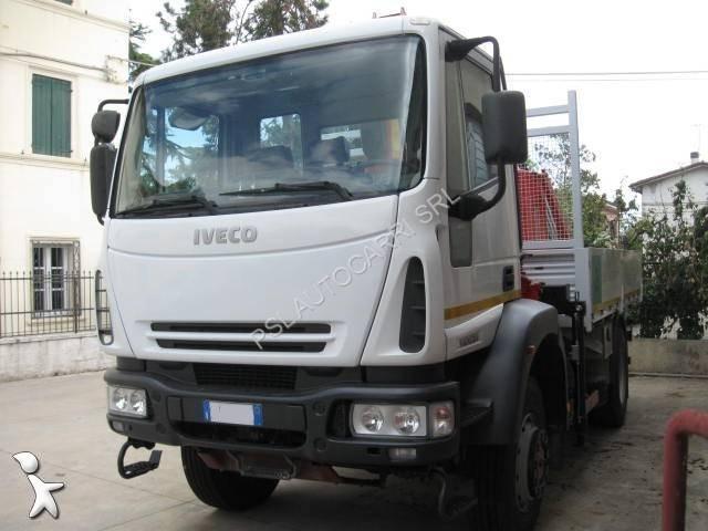 camion iveco plateau ridelles eurocargo 140e24 4x4 euro 3 occasion n 1585823. Black Bedroom Furniture Sets. Home Design Ideas