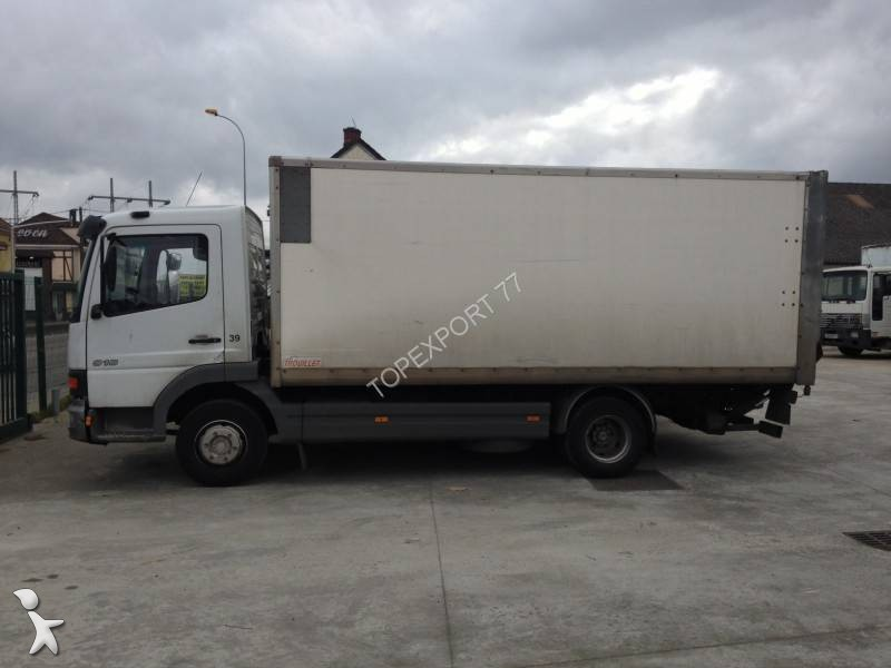 camion fourgon occasion mercedes atego 814 annonce n 1628159. Black Bedroom Furniture Sets. Home Design Ideas