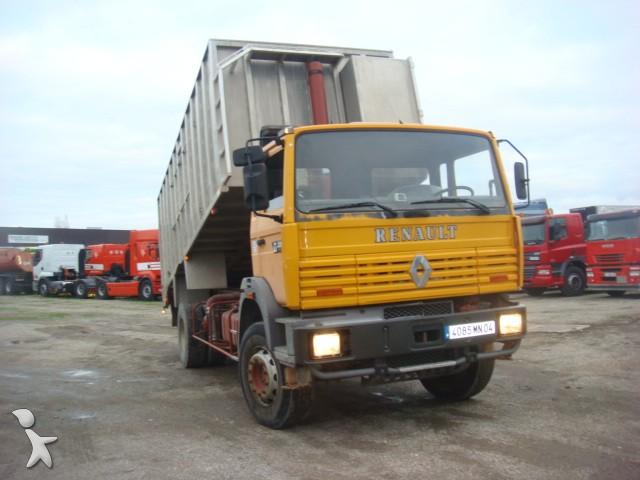 camion renault benne gamme g 230 gazoil euro 1 occasion n 1632334. Black Bedroom Furniture Sets. Home Design Ideas