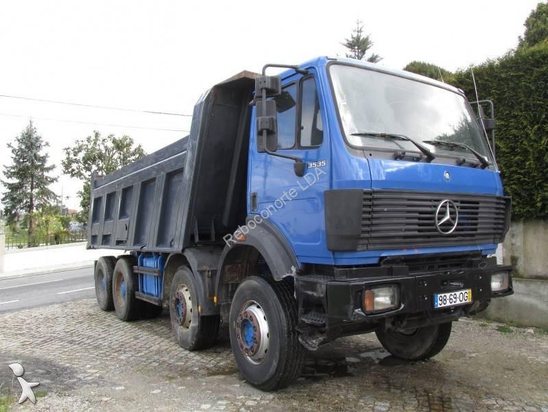 camion mercedes benne 3535 4x4 euro 6 occasion n 1632756. Black Bedroom Furniture Sets. Home Design Ideas