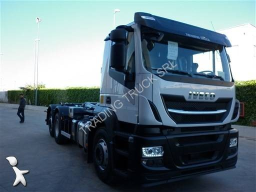 camion iveco polybenne stralis 260 s 48 euro 6 neuf n 1634053. Black Bedroom Furniture Sets. Home Design Ideas