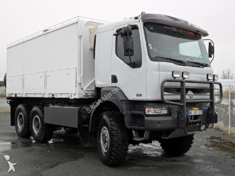camion renault kerax 420 gazoil occasion n 1661222. Black Bedroom Furniture Sets. Home Design Ideas