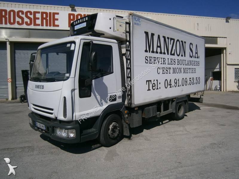 camion iveco frigo carrier multitemperature eurocargo 100e18 4x2 gasolio euro 3 usato n 1669069. Black Bedroom Furniture Sets. Home Design Ideas
