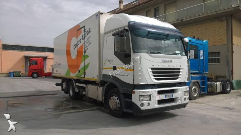camion iveco frigo carrier stralis as 260 s 48 6x2 euro 3 usato n 1686909. Black Bedroom Furniture Sets. Home Design Ideas
