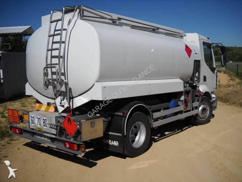 camion citerne hydrocarbures occasion renault midlum 280 dxi gazoil annonce n 1693719. Black Bedroom Furniture Sets. Home Design Ideas