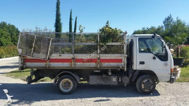 camion isuzu tri benne 4x2 gazoil euro 3 occasion n 1718932. Black Bedroom Furniture Sets. Home Design Ideas