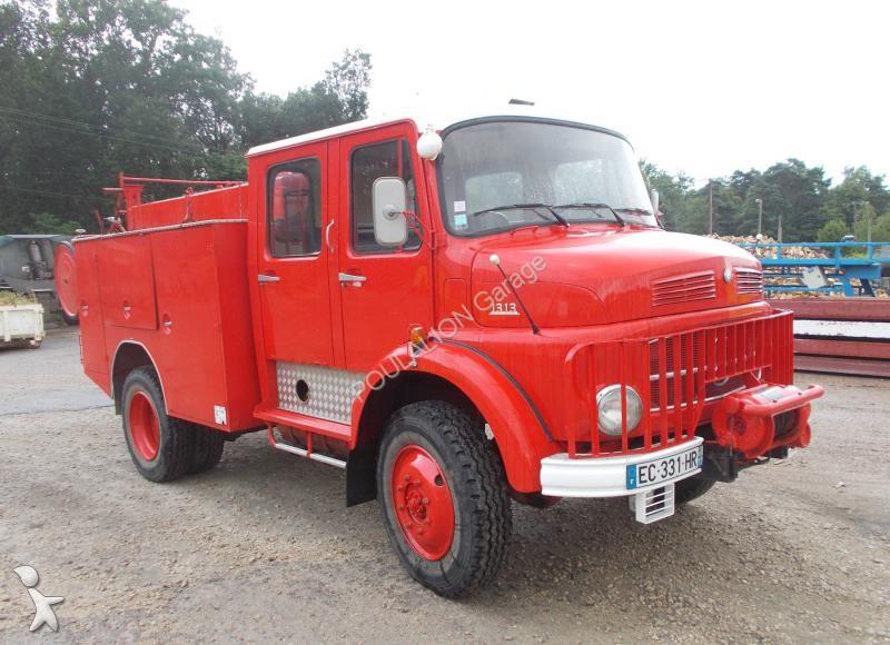 camion mercedes pompiers la 1313 4x4 gazoil euro 1. Black Bedroom Furniture Sets. Home Design Ideas