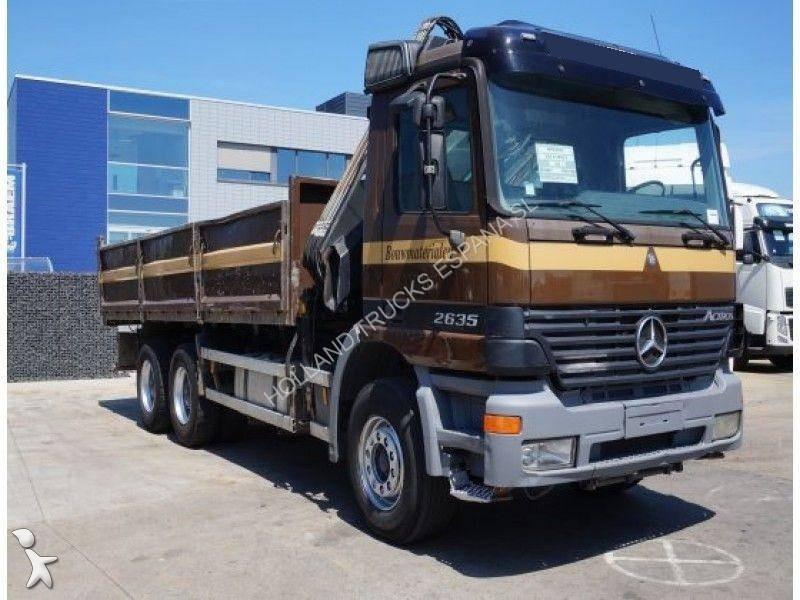camion mercedes benne 2635k 6x4 euro 3 grue occasion n 1757880. Black Bedroom Furniture Sets. Home Design Ideas