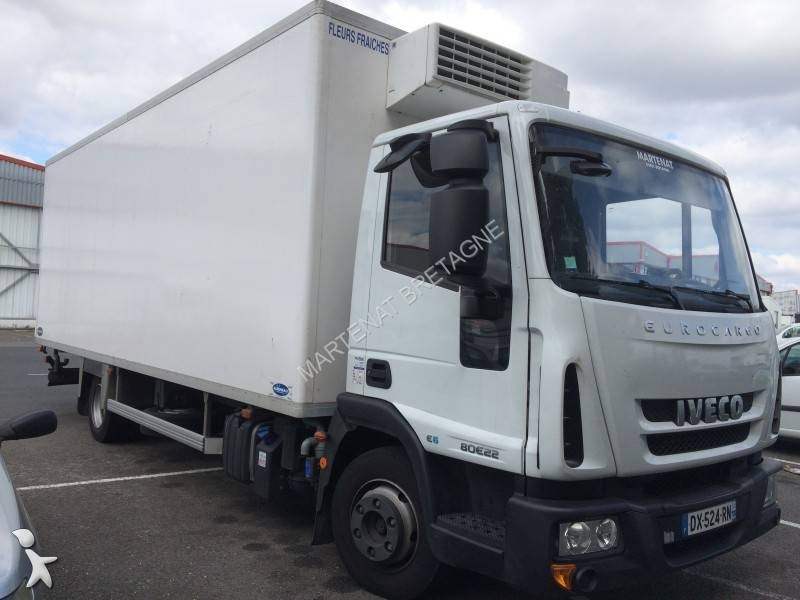 camion iveco frigo thermoking trasporto fiori eurocargo 80e22 4x2 gasolio euro 6 usato n 1759329. Black Bedroom Furniture Sets. Home Design Ideas