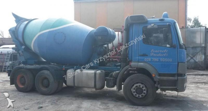 Camion mercedes b ton toupie malaxeur atego occasion n - Camion toupie beton ...