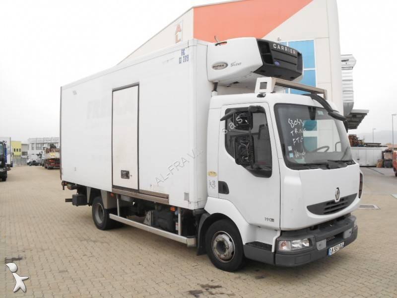 camion renault frigo carrier monotemperatura midlum dxi 4x2 gasolio euro 5 sponda usato. Black Bedroom Furniture Sets. Home Design Ideas