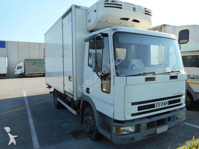 camion iveco frigo eurocargo 100e18 frigo gasolio usato n 1778753. Black Bedroom Furniture Sets. Home Design Ideas