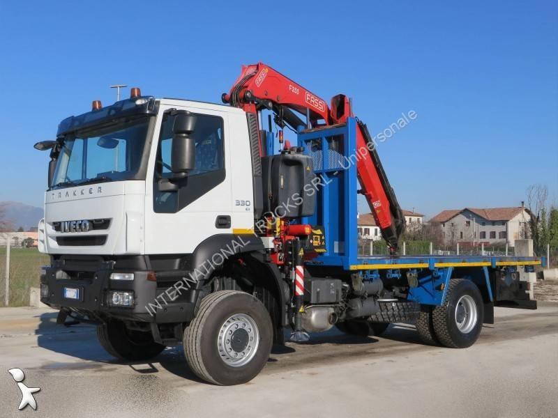 camion iveco plateau ridelles trakker 190 t 33 4x4 gazoil. Black Bedroom Furniture Sets. Home Design Ideas
