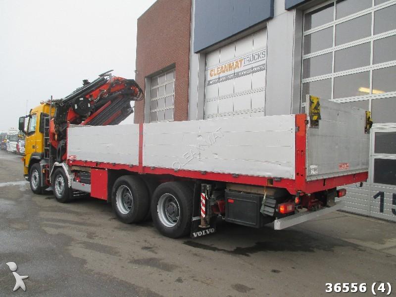camion volvo polybenne fm 8x4 palfinger 44 ton meter kran fly 8x4 gazoil euro 3 grue. Black Bedroom Furniture Sets. Home Design Ideas