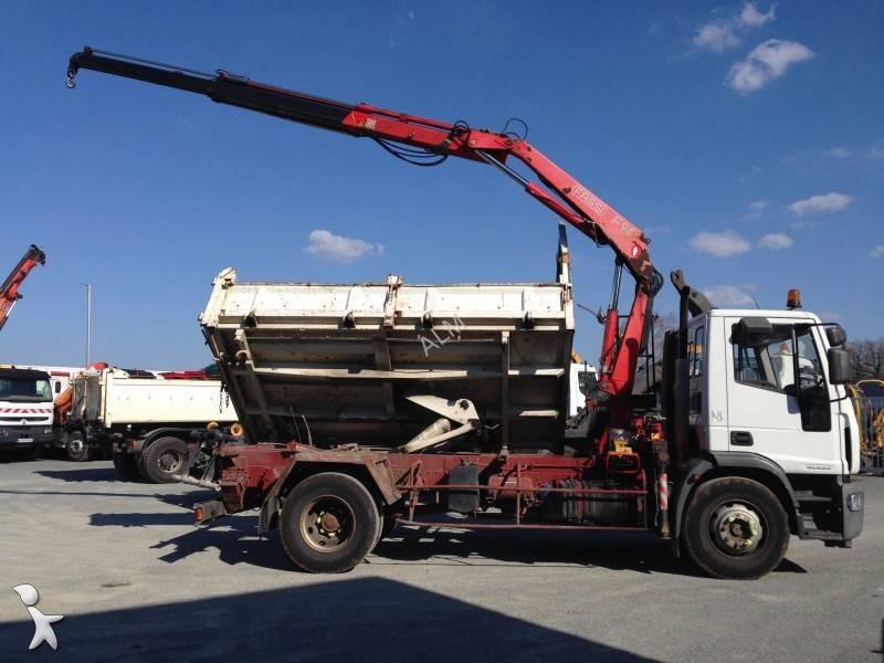camion bi benne occasion iveco eurocargo 150e24 marrel. Black Bedroom Furniture Sets. Home Design Ideas