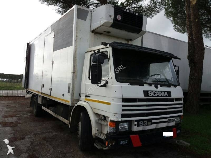 camion scania frigo m 93m 4x2 euro 2 occasion n 1813998. Black Bedroom Furniture Sets. Home Design Ideas