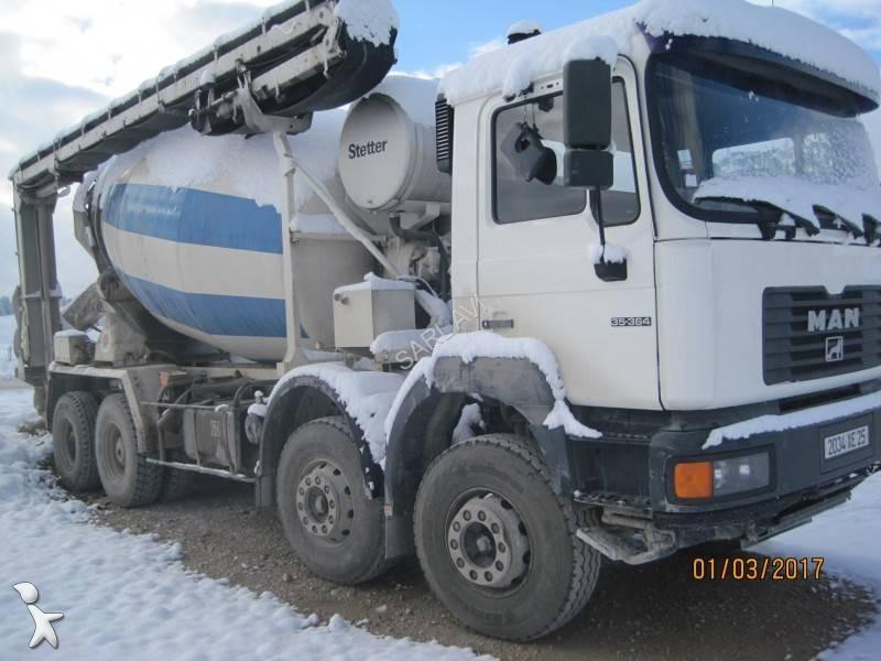 Camion man b ton toupie malaxeur euro 2 occasion n 1826843 - Camion toupie beton ...