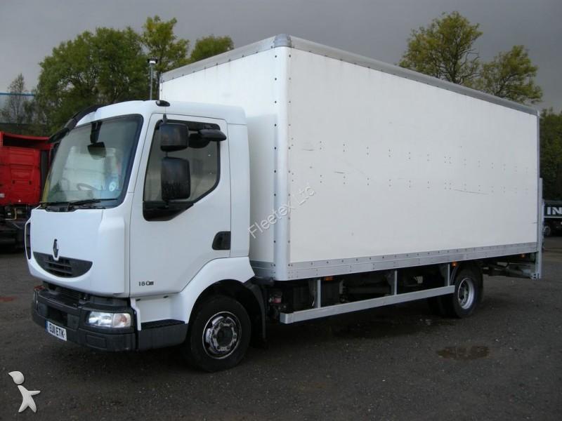 camion renault fourgon midlum 7 5t grp box van 2011 eu11 etk hayon occasion n 1860213. Black Bedroom Furniture Sets. Home Design Ideas